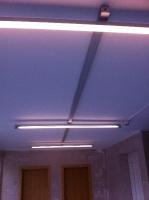 Erneuerung einer Flurbeleuchtung
